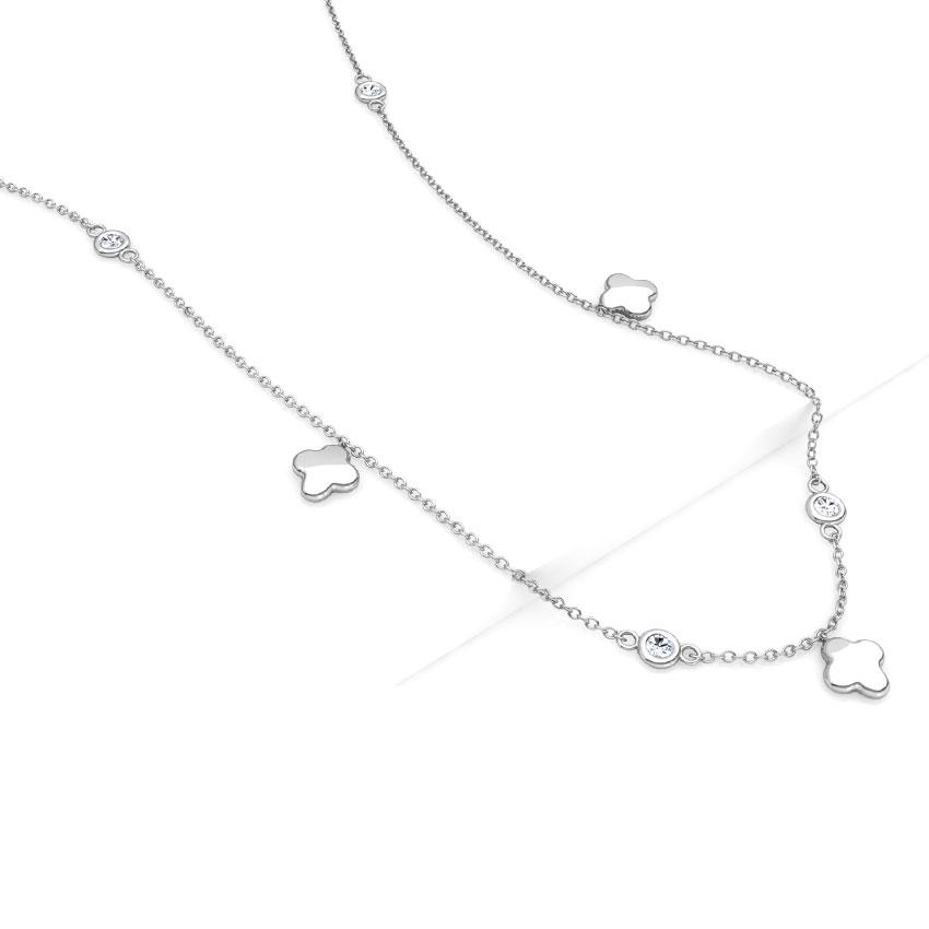 Bud Fine Line Necklace