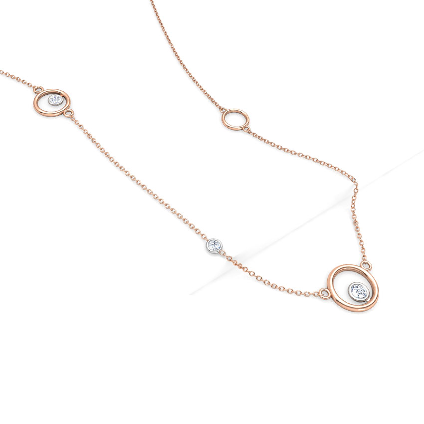 Encircle Fine Line Necklace