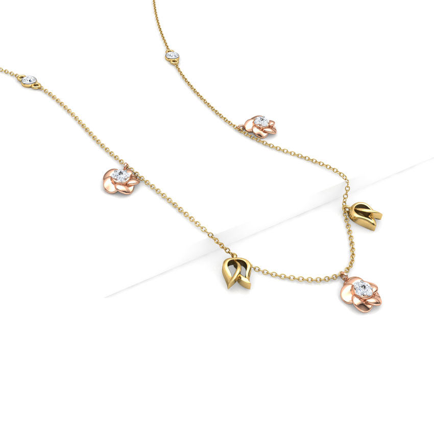 Bloom Fine Line Necklace