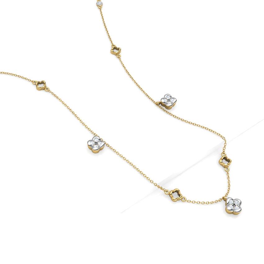 Floret Fine Line Necklace