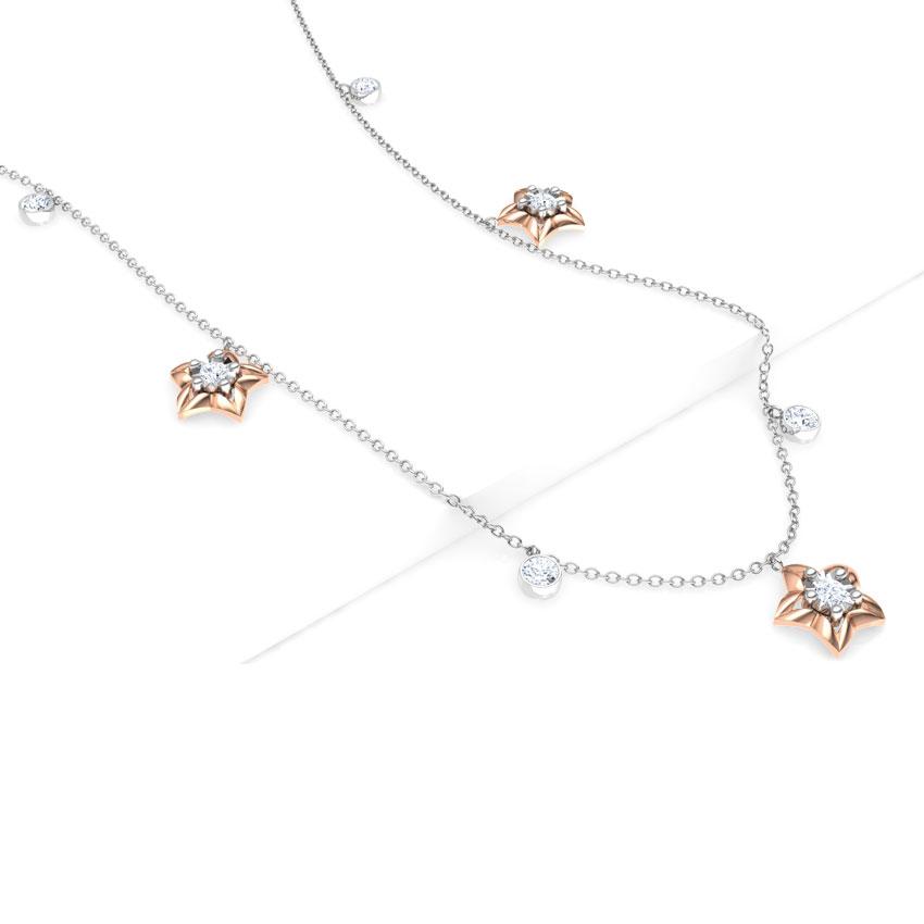 Sky Fine Line Necklace