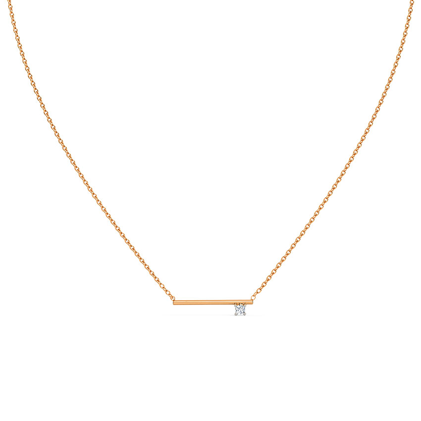Minimalistic Bar Chain Necklace
