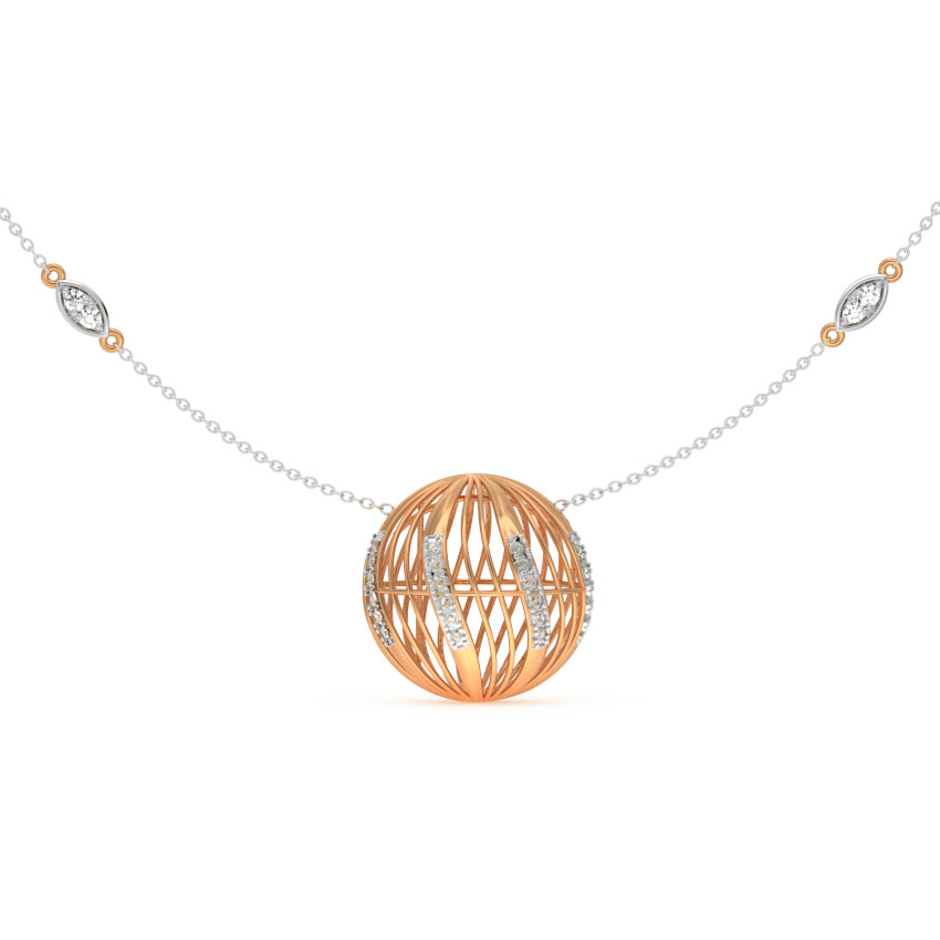 Orb Mesh Necklace
