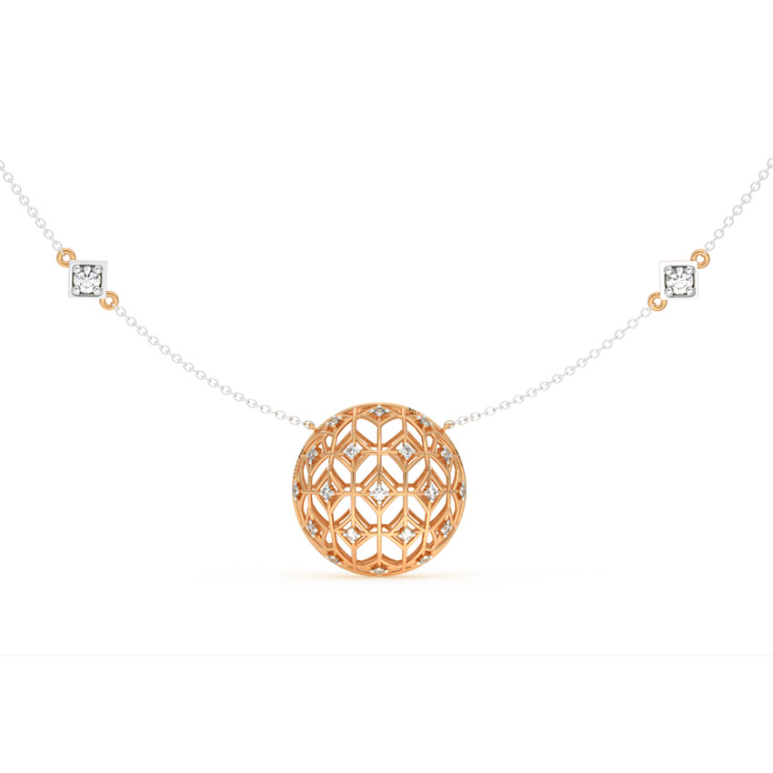 Dome Mesh Necklace