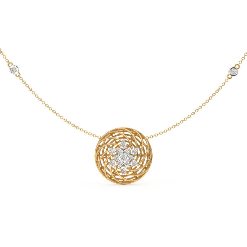 Floret Mesh Necklace
