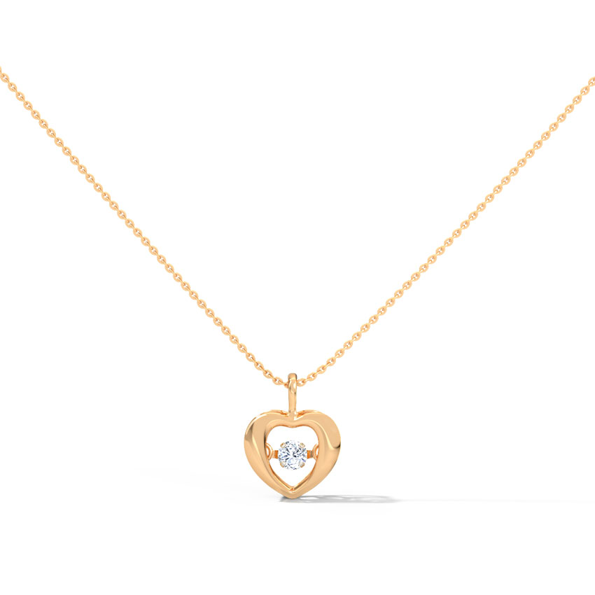 Doris Heartbeat Chain Necklace