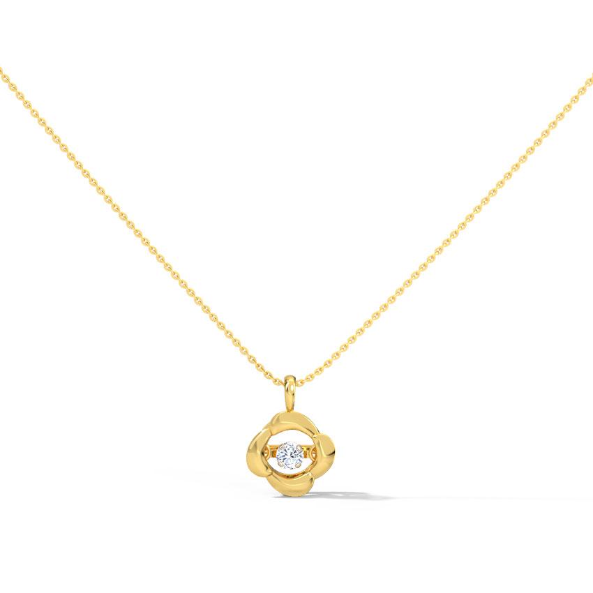 Marie Heartbeat Diamond Necklace