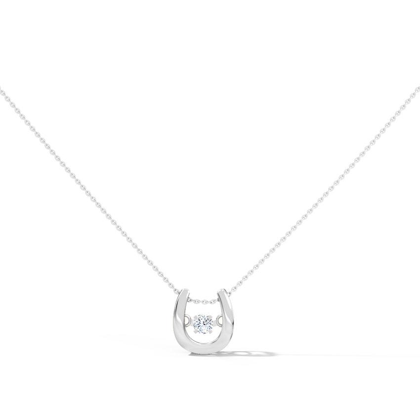 Irene Heartbeat Diamond Necklace