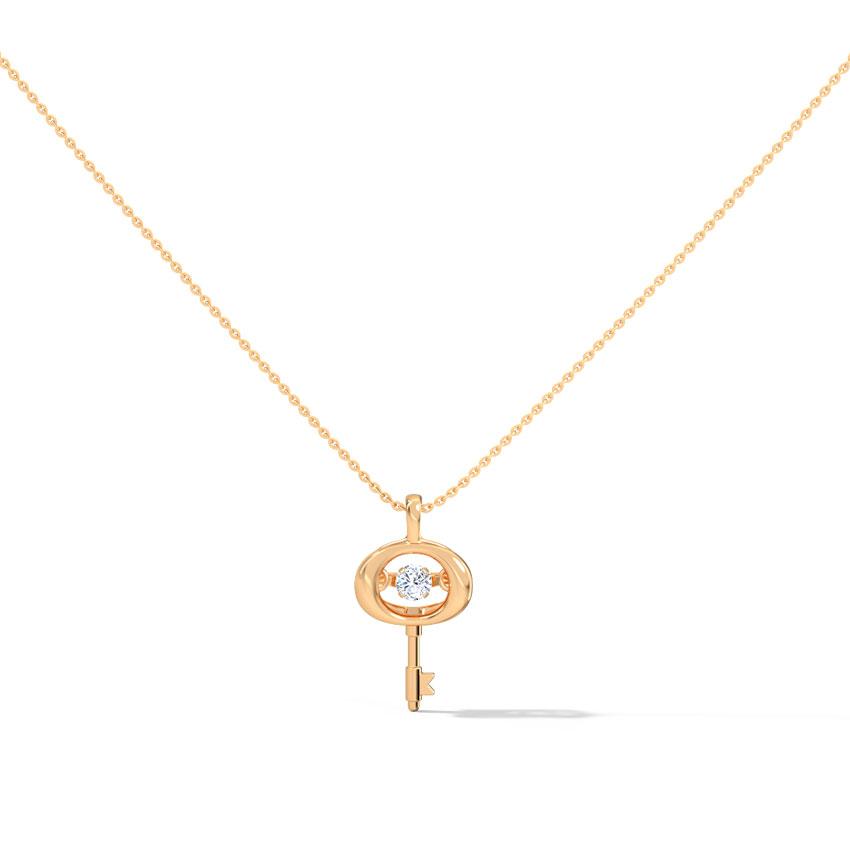 Katherine Heartbeat Diamond Necklace