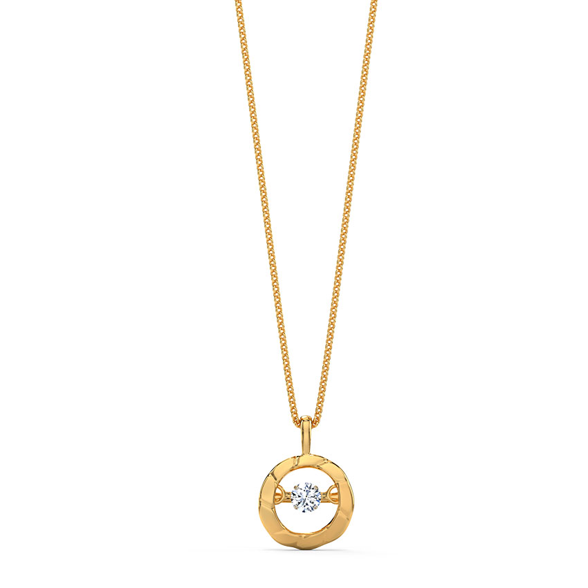 Margot Heartbeat Diamond Necklace