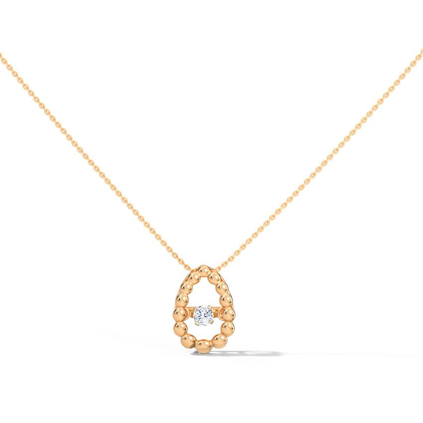 Josephine Heartbeat Diamond Necklace