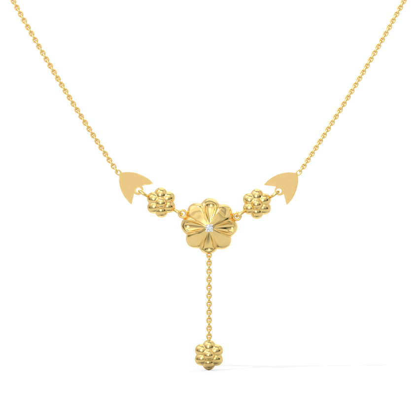 Bouquet Diamond Chain Necklace