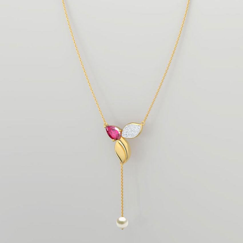 Elegant Leaflet Necklace