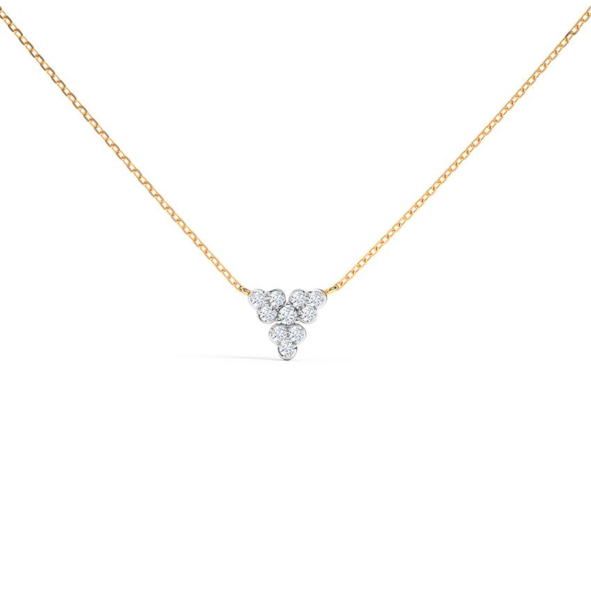 Trillium Cluster Necklace