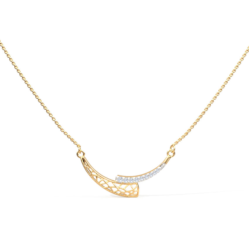 Awry Arch Chain Necklace