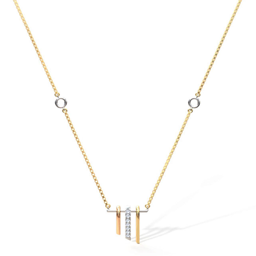 Eva Linear Necklace