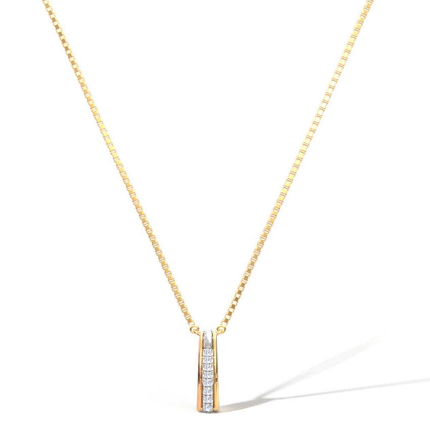 Kimberly Linear Necklace