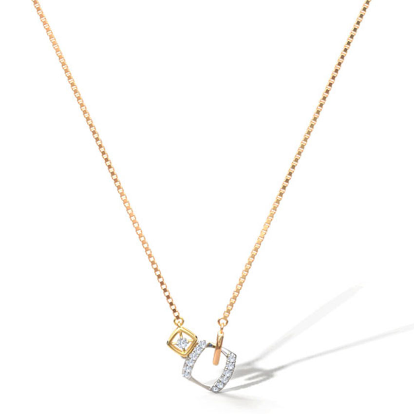 Juliet Geometric Chain Necklace