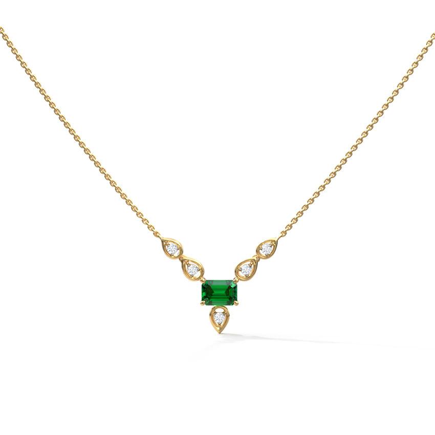 Lush Petals Chain Necklace