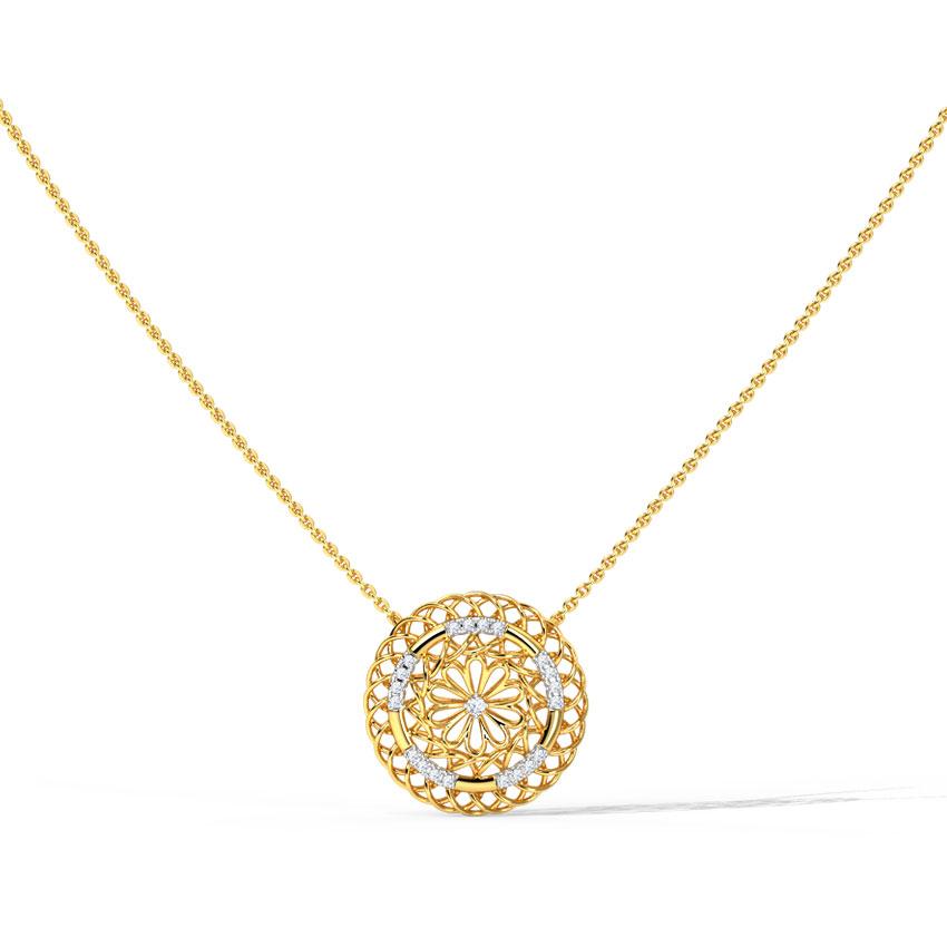 Orb Lattice Necklace