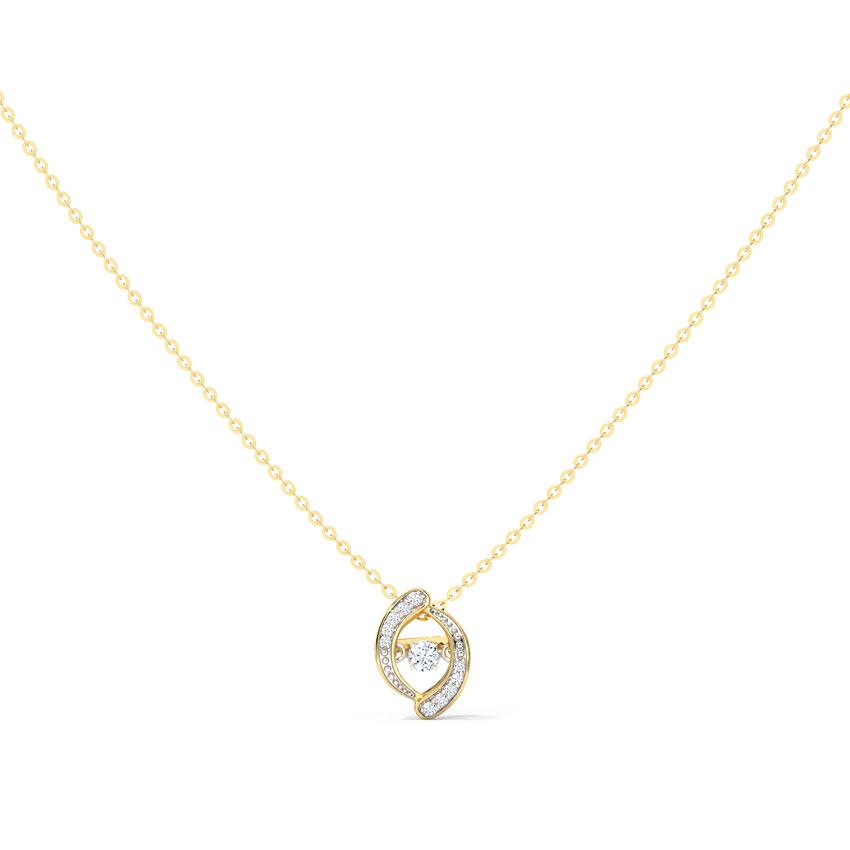 Ellis Heartbeat Diamond Necklace