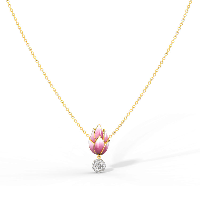 Lotus Bud Necklace