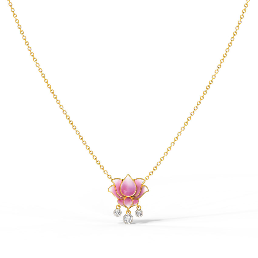 Radiance Lotus Necklace