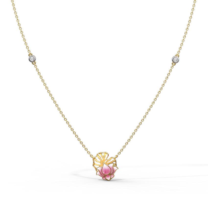 Grace Lotus Necklace