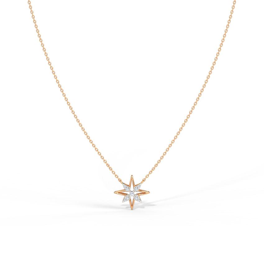 Glittering Star Necklace