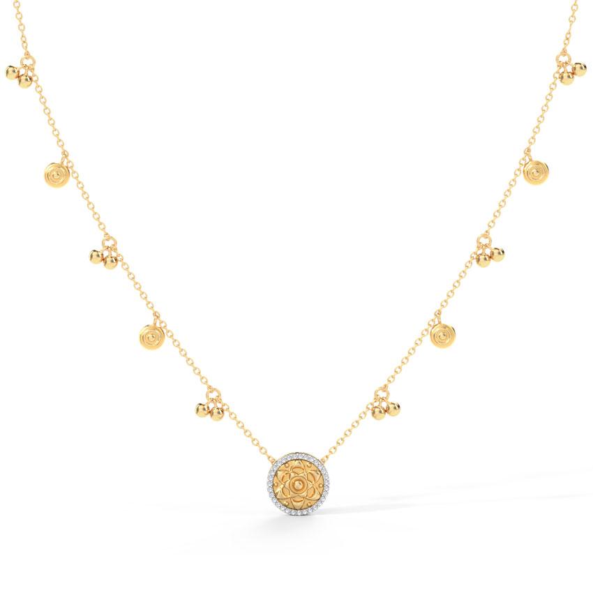 Jisha Coin Necklace