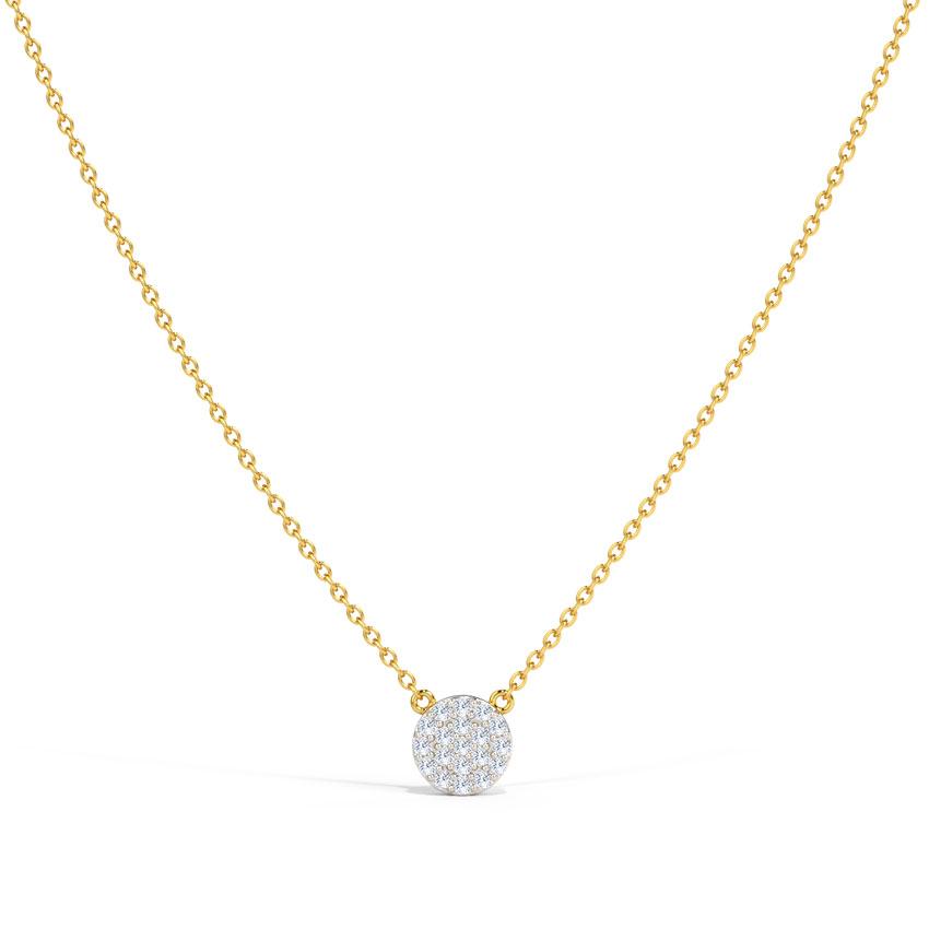 Circlet Diamond Necklace