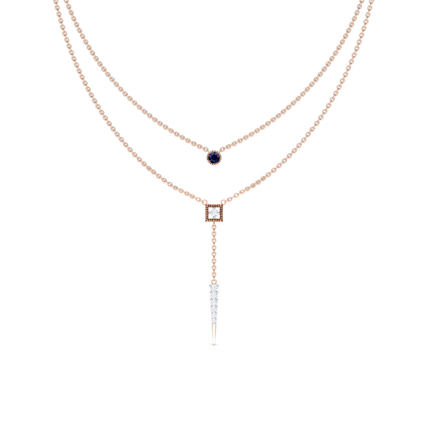 Linear Multi Layer Necklace