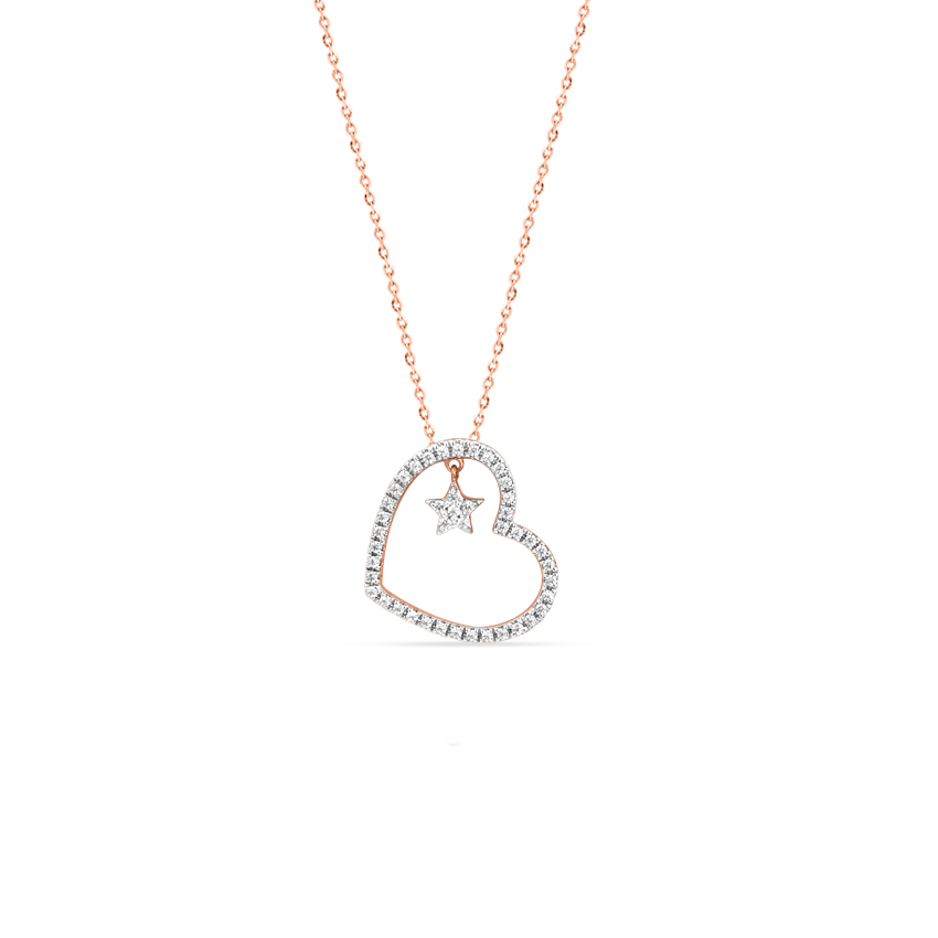 Starry Heart Necklace