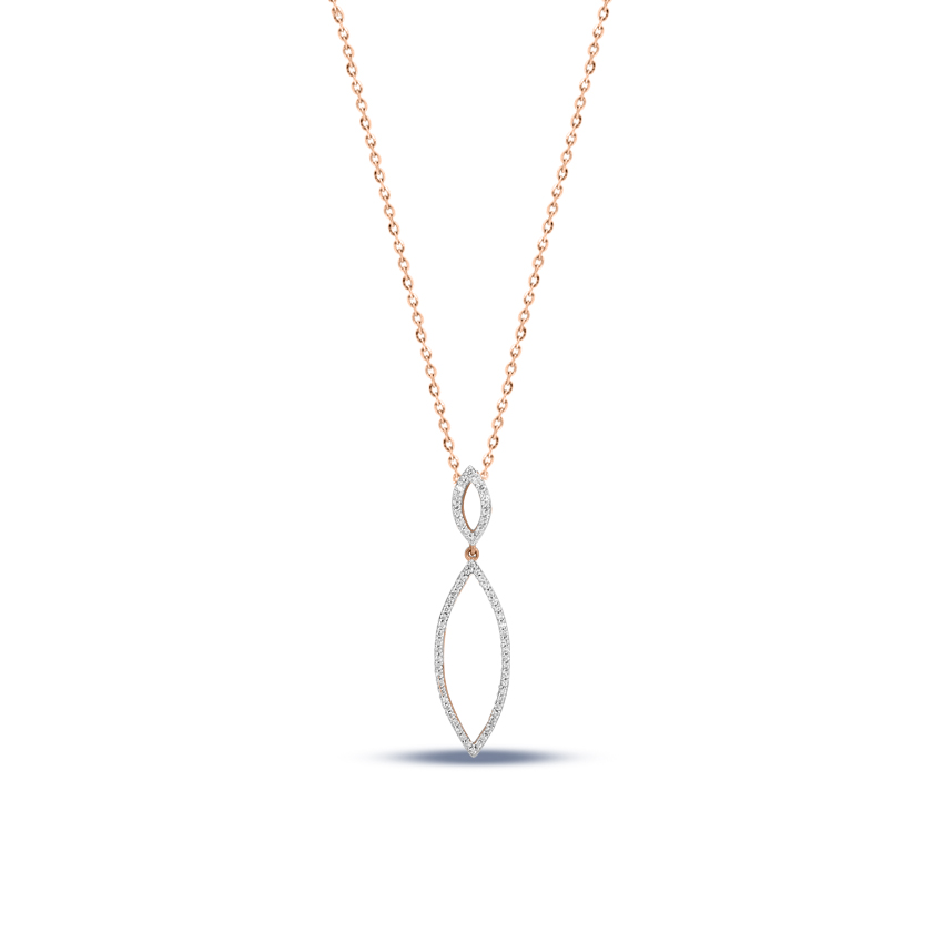 Minimalist Marquise Necklace