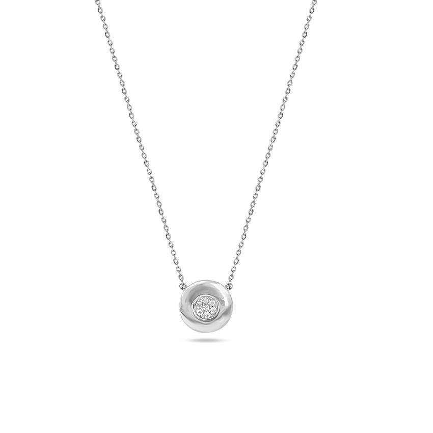 Diamond Necklaces 14 Karat White Gold Tara Glowing Diamond Necklace