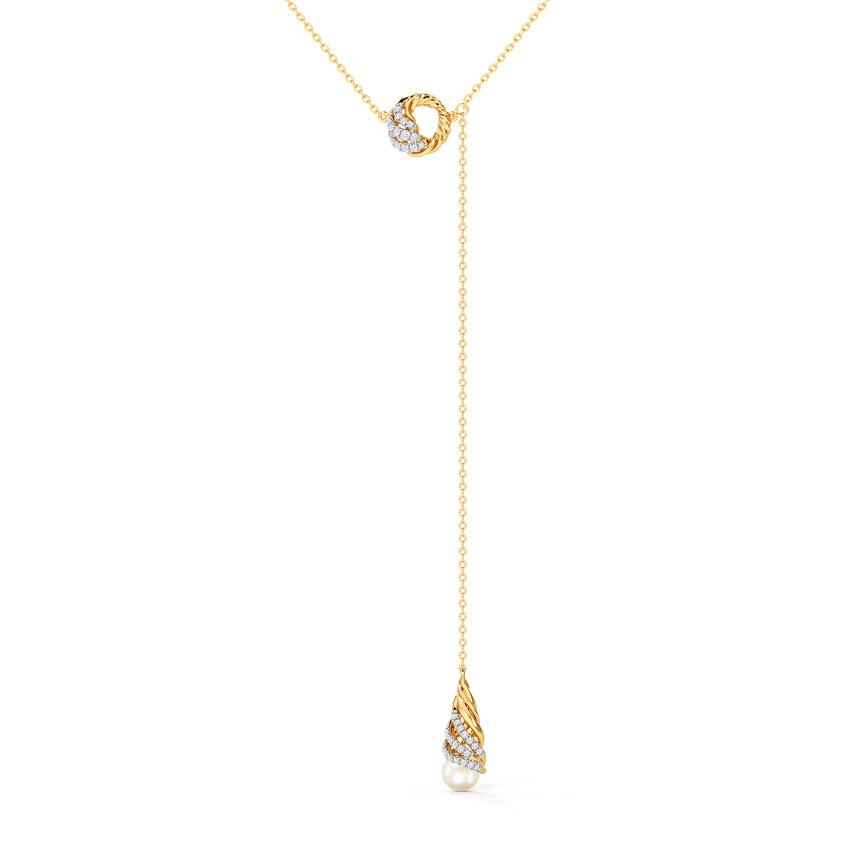 Diamond,Gemstone Necklaces 14 Karat Yellow Gold Deborah Diamond Necklace
