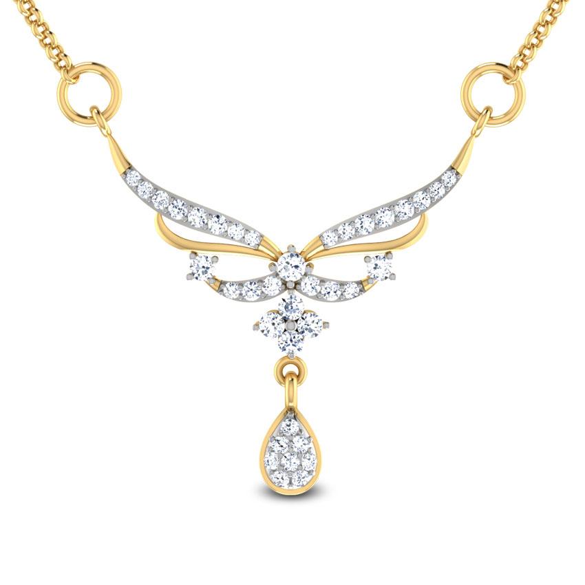 Diamond Tanmaniya 18 Karat Yellow Gold Satchita Diamond Tanmaniya