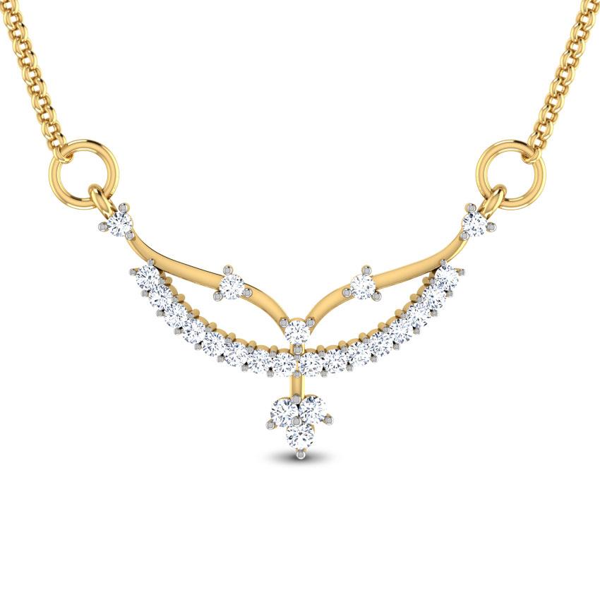 Diamond Tanmaniya 18 Karat Yellow Gold Tarenya Diamond Tanmaniya
