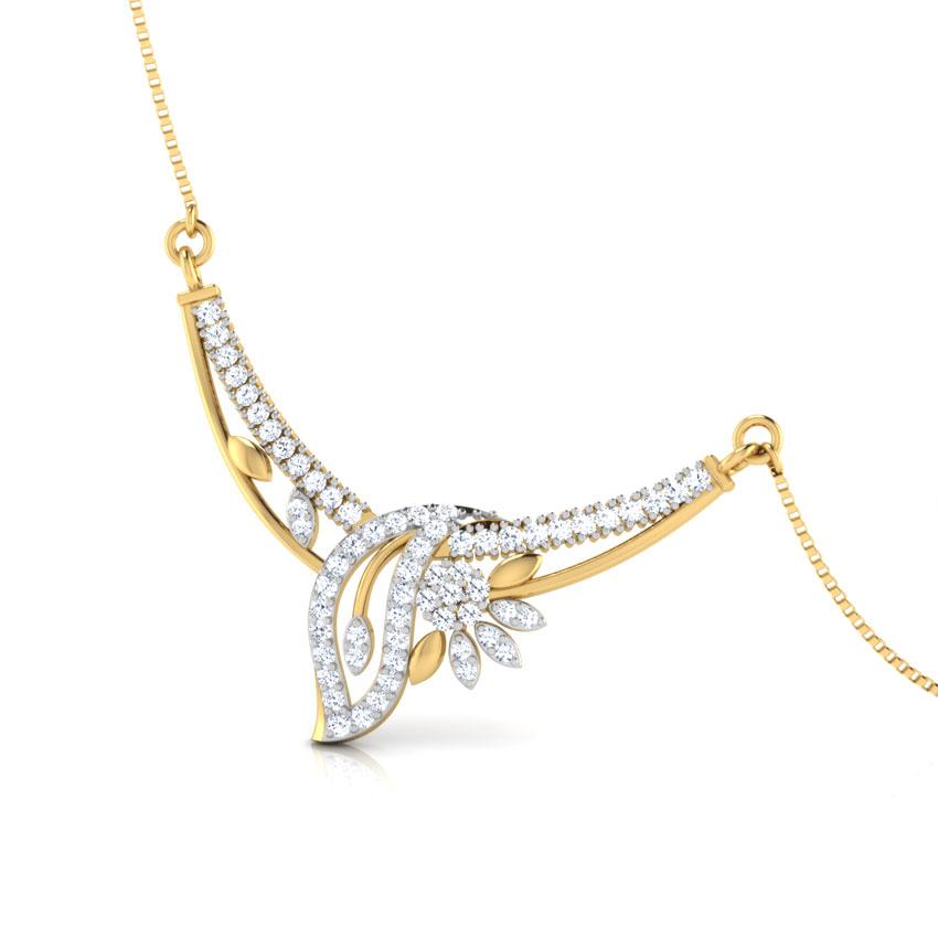Diamond Tanmaniya 18 Karat White Gold Ananya Diamond Tanmaniya