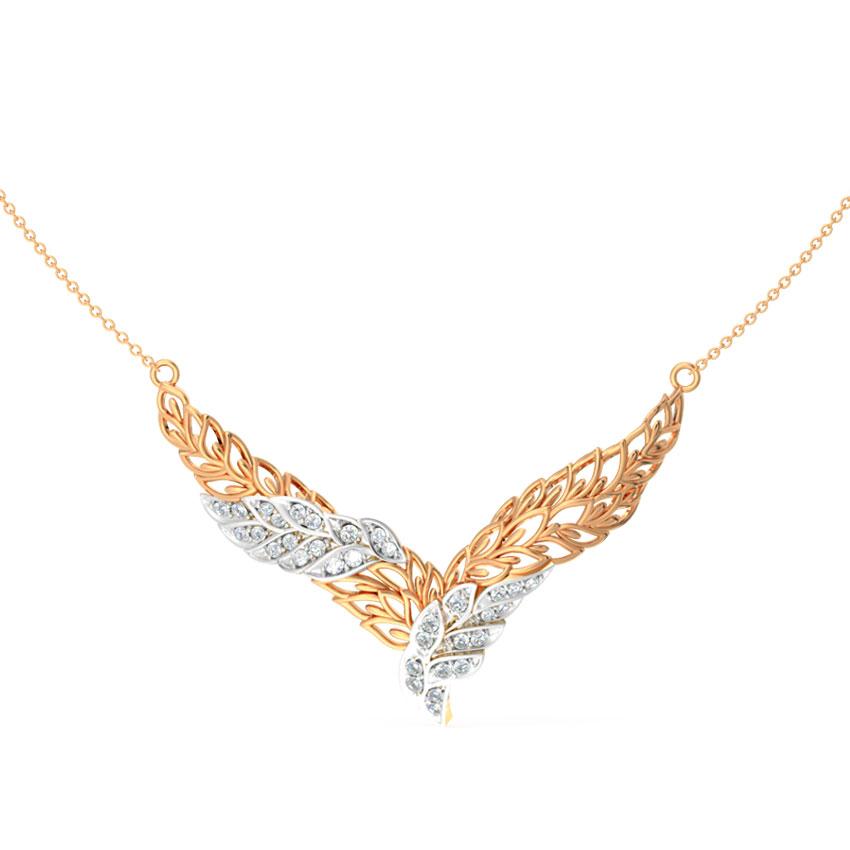 Diamond Tanmaniya 14 Karat Rose Gold Haworthia Diamond Tanmaniya