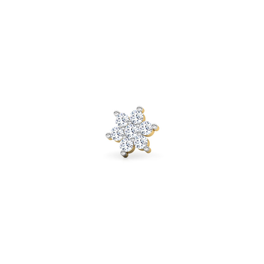 Gracia Diamond Nose Pin