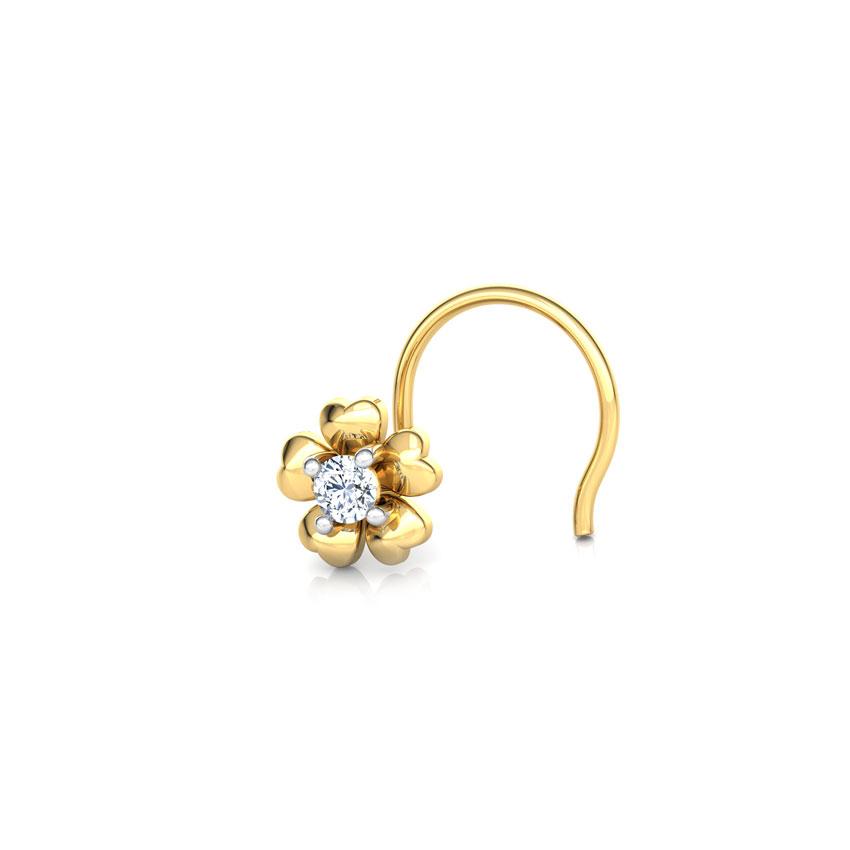 Bhavya Bloom Nose Pin