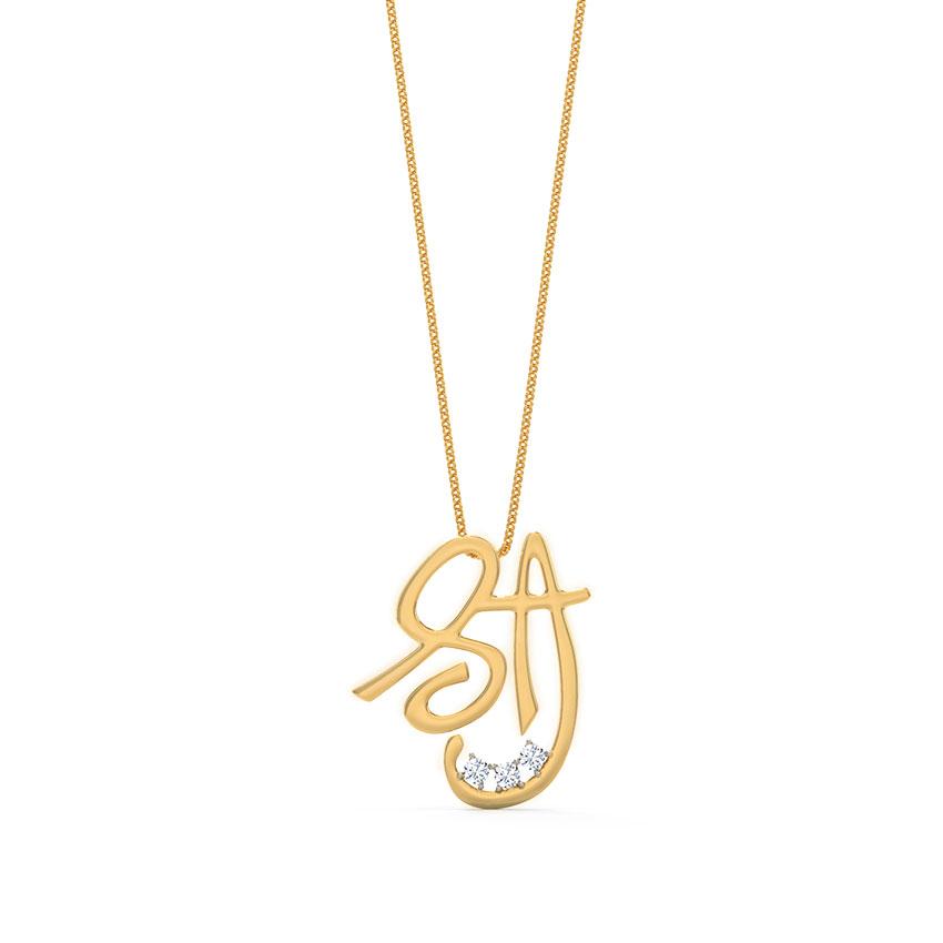 Shri Diamond Pendant