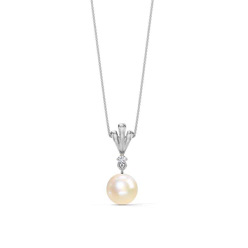 Simple Drop Pearl Pendant