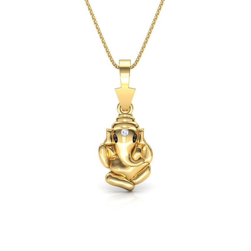 Classic Ganesha Pendant
