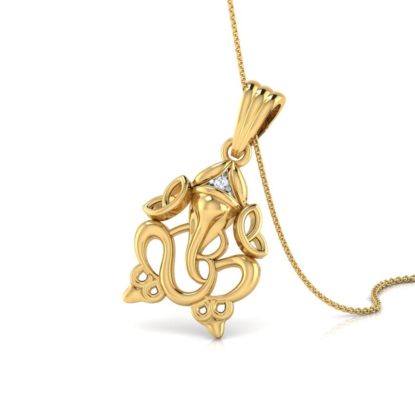 Sacred Ganesha Pendant