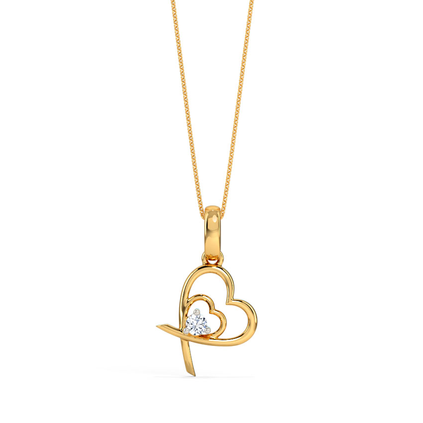 Duo Heart Pendant