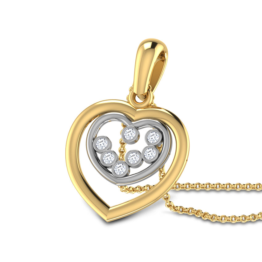 Heart in Heart Pendant