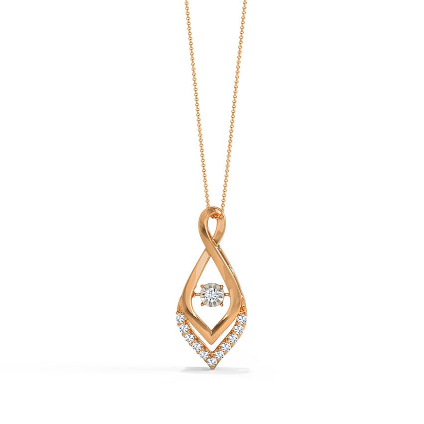 Fannie Heartbeat Diamond Pendant