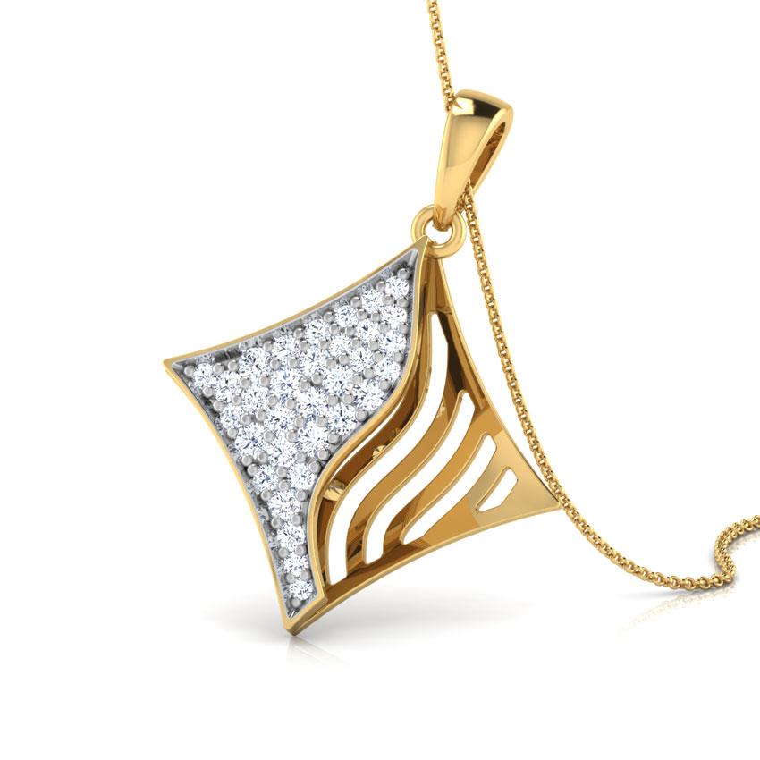 Quad Diamond Pendant